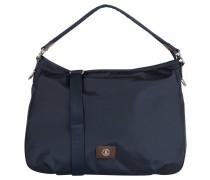 """Handtasche """"Elba"""", Emblem, Reißverschluss, Blau"""