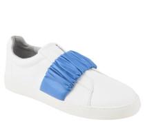 "Slip-On Sneaker ""Pindiviah"", Leder, geraffter Spann, zweifarbig"