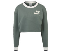 Sweatshirt, Cropped, Print