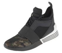 Sneaker, Schnürung, elastisches Band, Camouflage