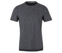 T-Shirt, Muster, Weicher Griff, Baumwolle, Blau