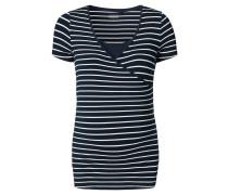 """Still-Shirt """"Lely YD"""", Streifen-Design, Blau"""