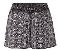 Shorts, gesmokter Bund, reine Viskose