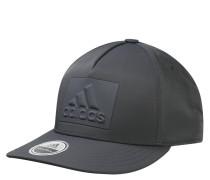 Basecap, Emblem, Snapback, unifarben