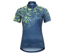"""Fahrradshirt """"Loveline"""", Blumenprint, Stecktaschen, für Damen, Blau"""