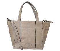 """Handtasche """"Toledo"""", Patch-Front, Leder, Taupe"""