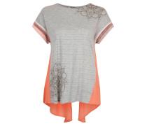 "T-Shirt ""Creta"", Mandalamuster, Glitzer-Effekt, Grau"