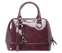 Handtasche, Lackoptik, Schulterriemen