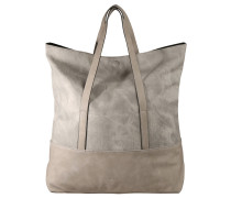 "Shopper ""Tara"", Stonewash-Look, Grau"