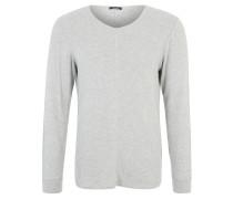 Sweatshirt, Melange-Optik, Weicher Griff, Grau