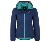 Steppjacke, Thermore-Isolierung, Kapuze, Blau