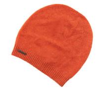 Kaschmir-Mütze, feiner Rippenbund