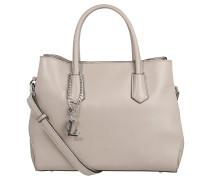 """Handtasche """"Basel"""",, Echtleder, klassisches Design, Beige"""