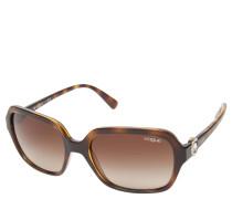 "Sonnenbrille ""VO 2994-SB"", Havana-Design, Schmetterlings-Optik"