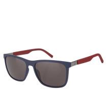 "Sonnenbrille ""TH 1445/S"", matt, zweifarbig, Panto-Stil, Emblem"