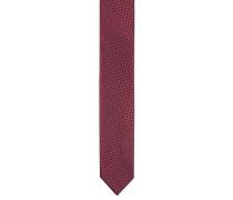 Krawatte, reine Seide, zweifarbig, gemustert