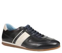 """Sneaker """"Hernas"""", Leder, zweifarbig, Blau"""