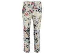 "Hose ""Cora"", Straight Fit, Comfort-Taille, Blumen-Muster"