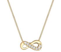 Halskette Infinity Unendlich Liebe Topas 585 Gelb Jolene