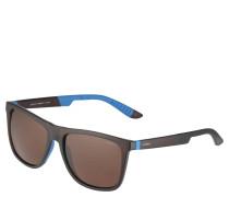Sportsonnenbrille, biegsame Bügel, zweifarbig, unisex