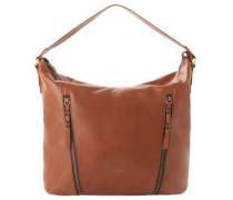 "Handtasche ""Inga"", Leder, Logo-Detail"