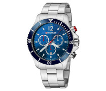 Seaforce Chrono Herrenuhr 01.0643.111, Chronograph
