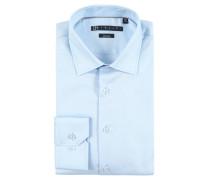 Businesshemd, atmungsaktiv, bügelfrei, Blau