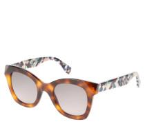 """Sonnenbrille """"FF 0204/S"""", Havana-Rahmen, bunte Bügel"""