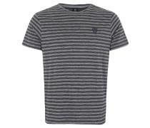T-Shirt, Streifenmuster, Logoemblem