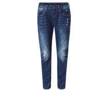 """Jeans """"Arc 3D"""", Boyfriend-Stil, Destroyed-Effekte, Blau"""