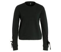 Sweatshirt, Ärmel-Schleife, Rundhalsausschnitt
