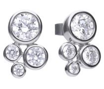Ohrstecker, Sterling Silber 925, -Zirkonia