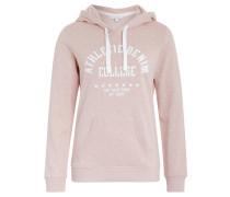 Sweatshirt, Kapuze, Sternen-Design, Print, Rosa