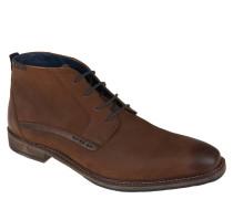 Boots, Leder, Karree-Spitze