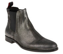 "Chelsea Boots ""Sigma_Cheb_sdgl"", Leder, Silber"