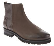 "Chelsea Boots ""Camile 08"", Nieten, Reißverschluss, Taupe"