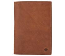 Brieftasche, Leder, braun, Braun