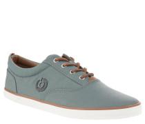 Sneaker, Textil, Logo-Emblem, flexible Laufsohle, Canvas, Grau