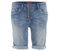 Jeans, Bermuda-Shorts, Knopfleiste, Regular Fit