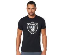 Oakland Raiders T-Shirt, für Herren, Schwarz