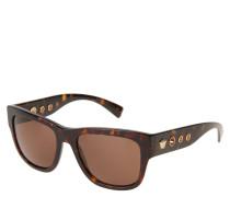 "Sonnenbrille ""VE 4319 108/73"", Havanna-Design, verzierte Bügel"