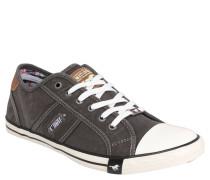 Sneaker, Canvas-Look, Grau