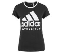 T-Shirt, Slim Fit, Logo-Print