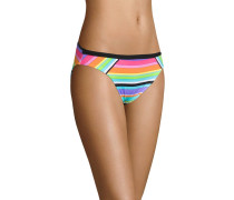Bikinihose, Streifen-Muster, Emblem