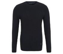 Pullover, gestrickte Rippen, verschiedene Strickmuster