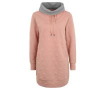 """Sweatshirt """"Serena"""", Sterne-Muster, Schlauchkragen, Rosa"""