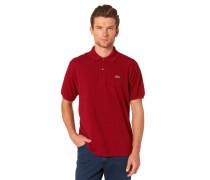 Poloshirt, Kurzarm, Piqué, für Herren, Rot