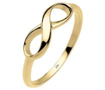 Ring Infinity Unendlichkeit 375 Gelb