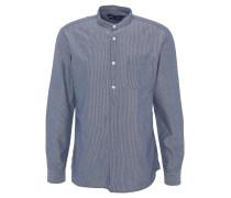 Freizeithemd, Regular Fit, gestreift, Brusttasche, Blau