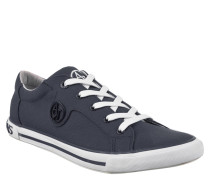 Sneaker, Textil, Emblem, Blau